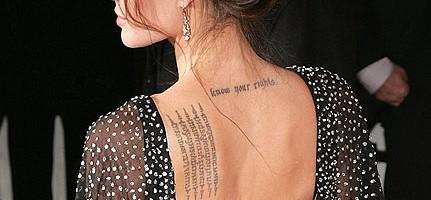 Így viseld a tetoválásod! Sztárok és rajzaik