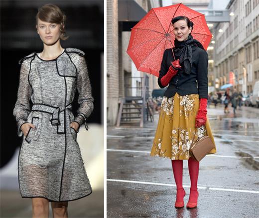 Rainy Day High Fashion