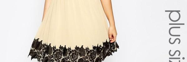 Tökéletes ruha – plus size módra